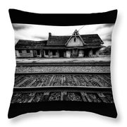 Ingersoll Train Station    Throw Pillow