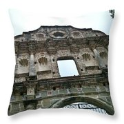 Inglasia De La Compania De Jesus 1 Throw Pillow