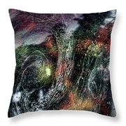Inhabited Space #2 Throw Pillow