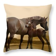 Inherit The Wind Throw Pillow by Corey Ford