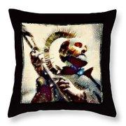 Inigo At Manresa Throw Pillow