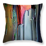 Ink Drum Throw Pillow