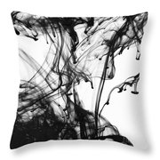 Ink IIi Throw Pillow