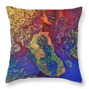 Ink Puddles Throw Pillow