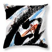 Inkism7 Throw Pillow