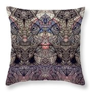Inklings  Image Three Throw Pillow