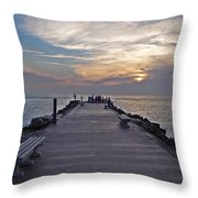 Inlet Fort Pierce Throw Pillow