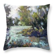 Inlet Haven Throw Pillow