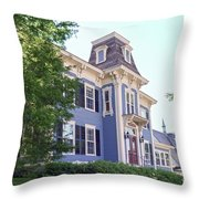 Inn On The Green Throw Pillow
