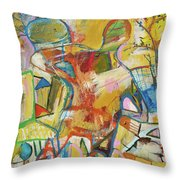 Innards Throw Pillow