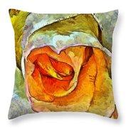 Inner Beauty Throw Pillow