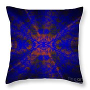 Inner Glow - Abstract Throw Pillow