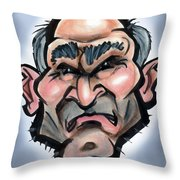 Inner Grouch Throw Pillow