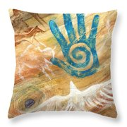 Inner Journey Throw Pillow by Brandy Woods