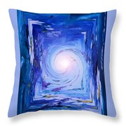 Inner Journey Throw Pillow