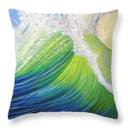 Inner Ocean - Exaltation Throw Pillow