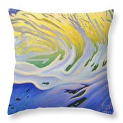 Inner Ocean - Joy Throw Pillow