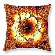 Inner Radiance Throw Pillow