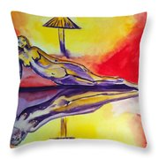 Inner Reflections Throw Pillow