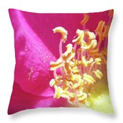 Inner Rugosa Throw Pillow
