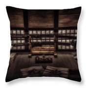 Inner Sanctum -colour Throw Pillow