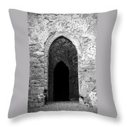 Inner Sanctum Fuerty Church Roscommon Ireland Throw Pillow