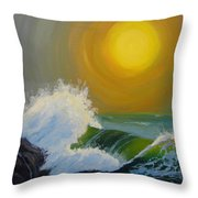 Inner Tide Throw Pillow