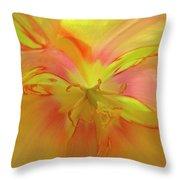Inner Tulip Throw Pillow