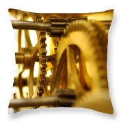Inner Workings Throw Pillow