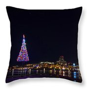 Inner Harbour Of Victoria Bc - 3 Throw Pillow