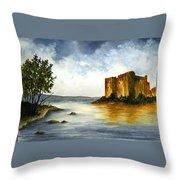 Innischonnel Castle Throw Pillow