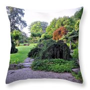 Innisfree Gardens Throw Pillow