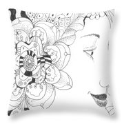 Innocence And Experience Throw Pillow