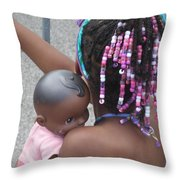 Innocence II Throw Pillow