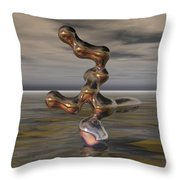 Innovation The Leap Of Imagination  Throw Pillow