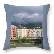 Innsbruck Throw Pillow
