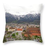 Innsbruck View Throw Pillow
