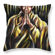 Inori Prayer Throw Pillow