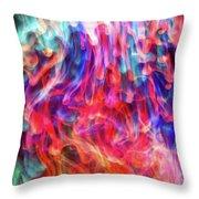 Insane In The Membrane Throw Pillow