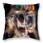 Insane Throw Pillow