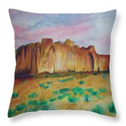 Inscription Rock  Throw Pillow