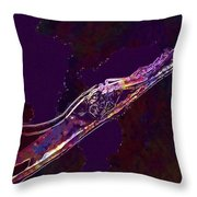 Insect Macro Close Up Magnification  Throw Pillow