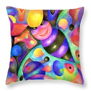 Insect Masquerade Party Throw Pillow
