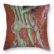 Insect Tile Throw Pillow
