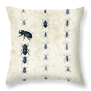 Insects - 1832 - 09 Throw Pillow