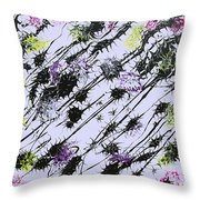 Insects Loathing - V1db100 Throw Pillow