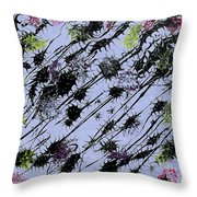 Insects Loathing - V1lle30 Throw Pillow
