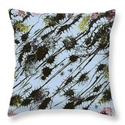 Insects Loathing - V1sd100 Throw Pillow