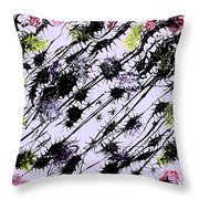 Insects Loathing - V1vhkf100 Throw Pillow