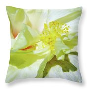Inside Beauty Throw Pillow
